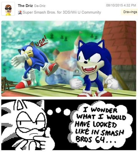 Super Smash Bros Meme - sonic 64 super smash brothers know your meme