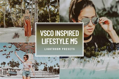 VSCO M5 blogger lightroom presets ~ Actions ~ Creative Market