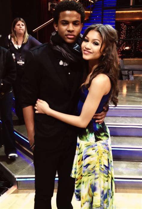 zendaya and her boyfriend 2015 2016 myfashiony zendaya trevor jackson and in love on pinterest