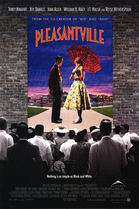 themes in the film pleasantville pleasantville movie posters at movie poster warehouse
