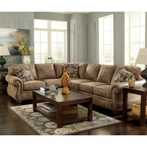signature design by larkinhurst 3 pc sectional raf