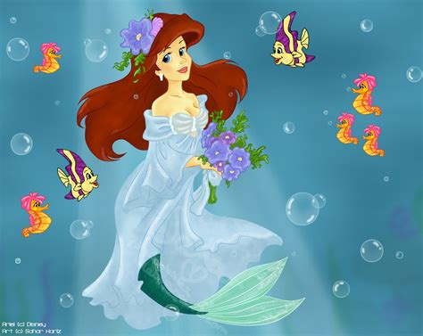 mermaid princess by tinkbubbles on deviantart