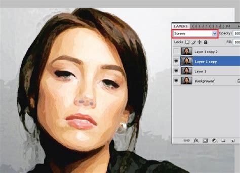 cara membuat warna coklat dengan cat air foto bergaya lukisan cat air dengan photoshop padistudio