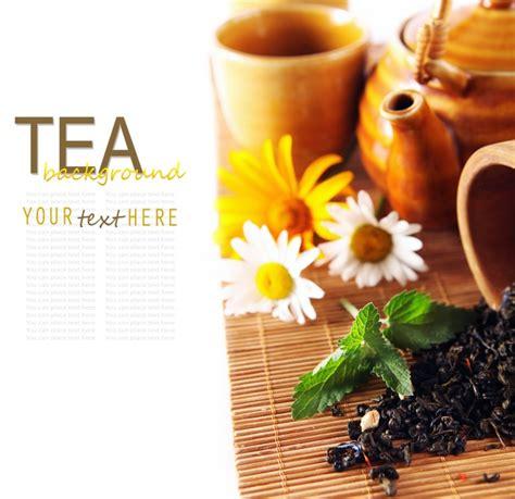 Fresh Tea Leaf Design Pictures Over Millions Vectors Tea Ppt Template Free