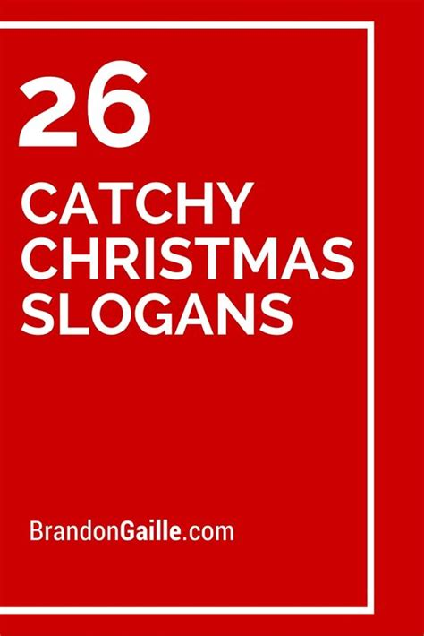 christmas advertising slogans catchy slogans and taglines slogans and