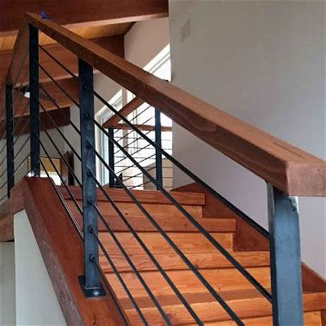 best 20 wood stair railings ideas on stair