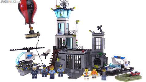 Lego City Prison Island 60130 lego city 2016 prison island build review 60130