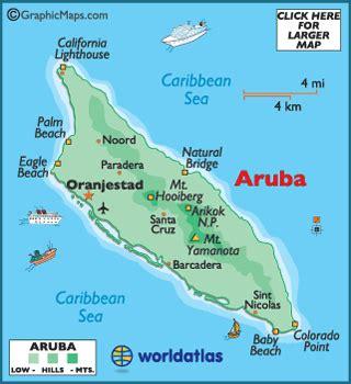 caribbean map aruba aruba photos worldatlas