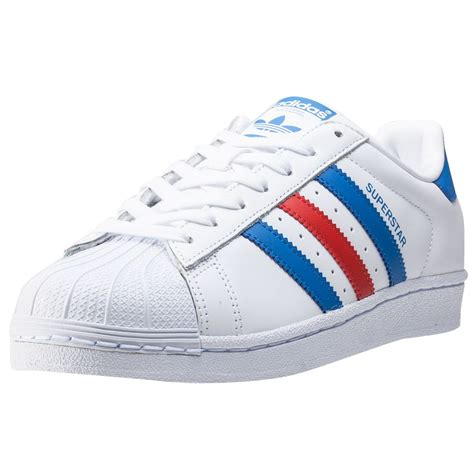 Adidas Stripe adidas superstar 2 tone stripes mens trainers in white