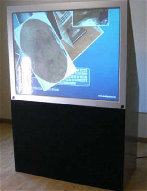 Diy Multitouch Rear Projection Tv Slashgear