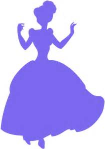 cinderella silhouette free vector silhouettes