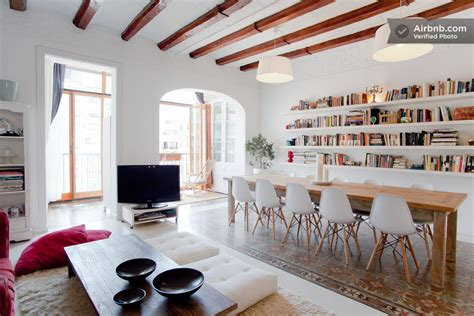 Appartment In Barcelona by Chic Apartment In Barcelona S L Eixle District