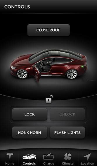 tesla application how a hacked password can unlock a tesla car