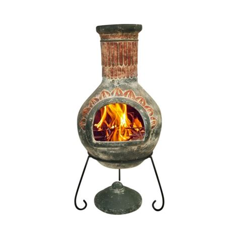Large Clay Chimenea Large Plumas Mexican Clay Chimenea Savvysurf Co Uk