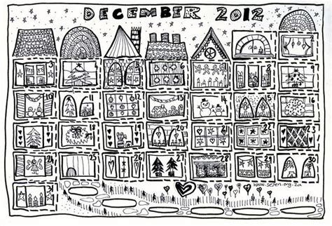 printable colour in advent calendar free printable advent calendar coloring page christmas