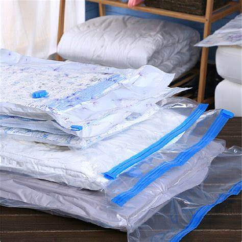 comforter vacuum storage bags 10pcs lot home folding vacuum storage compressed space