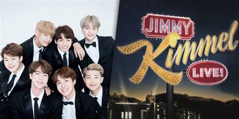 bts jimmy kimmel live bts เตร ยมเย อนรายการด งช อง abc jimmy kimmel live