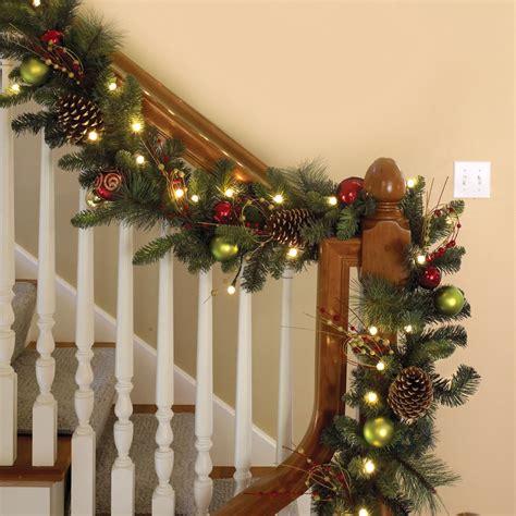Lovely Battery Operated Pre Lit Christmas Wreaths #3: Sensational-inspiration-ideas-outdoor-christmas-garlands-with-lights-garland.jpg