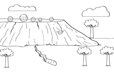 imagenes de simulacro de sismos para pintar se 237 smo dibujo para colorear e imprimir