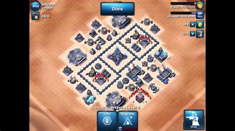 layout manager star wars commander star wars commander glitched lvl 6 hq base layout ver