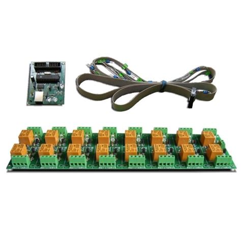 24 channel light board usb 16 channel relay board rs232 serial controlled 24v ebay