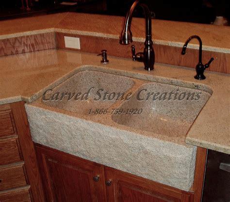stone kitchen sinks elegant natural stone kitchen sink designs