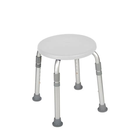 stool bathroom height adjustable round shower stool seat chair medical