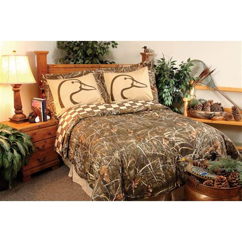 ducks unlimited bedding john marshall flyway dreams drapes and valance set