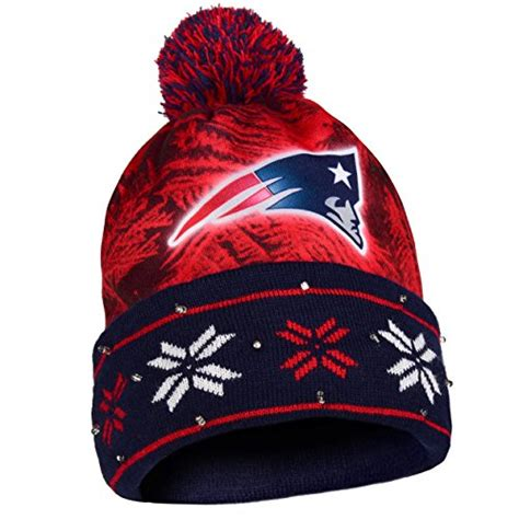 beanie cap with light patriots beanies new england patriots beanie patriots