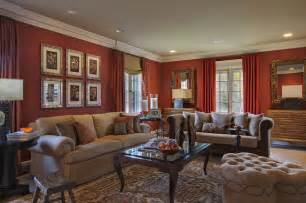 Maroon Drapes Welcome To Warmth By B Fein Interiors Eclectic Living