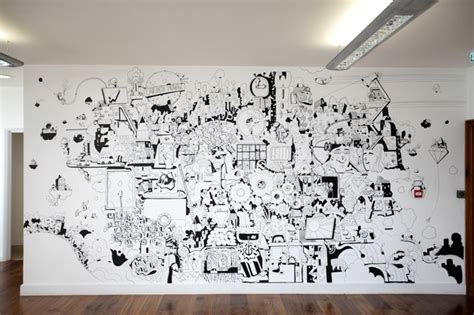 The Office Mural by Tuned In Office Mural Work Chris Martin Mrchrismartin
