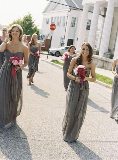 wedding theme gray bridesmaid dresses 2067339