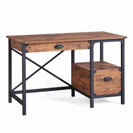 better homes and gardens rustic country desk weathered pine finish better homes and gardens rustic country desk weathered