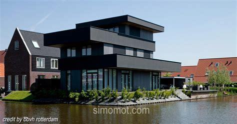 mantab benar desain arsitektur rumah  tepi sungai ala ypenburg iii