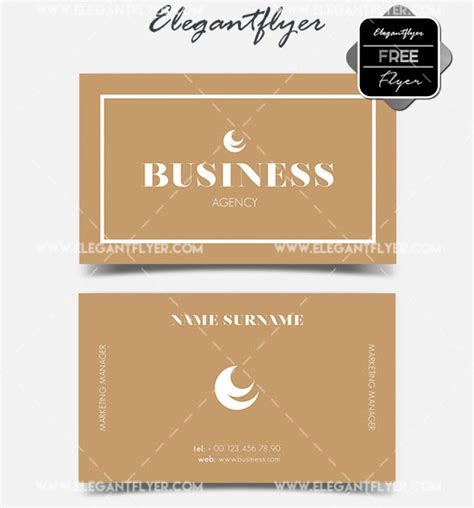 Ready Made Business Card Templates by 10 Print Ready Minimalist Free Business Card Psd Templates