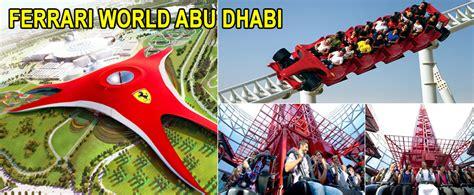 Ferrari World Discount by Ferrari World Abu Dhabi Reservations Ferrari World Abu