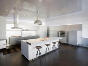 superior Open Kitchen Designs Photo Gallery #2: contemporary-white-kitchen.jpg