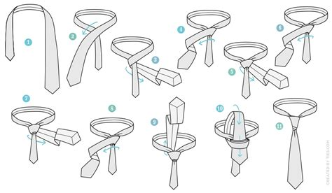 how to tie a tie diagram how to tie a wijk necktie knot agreeordie