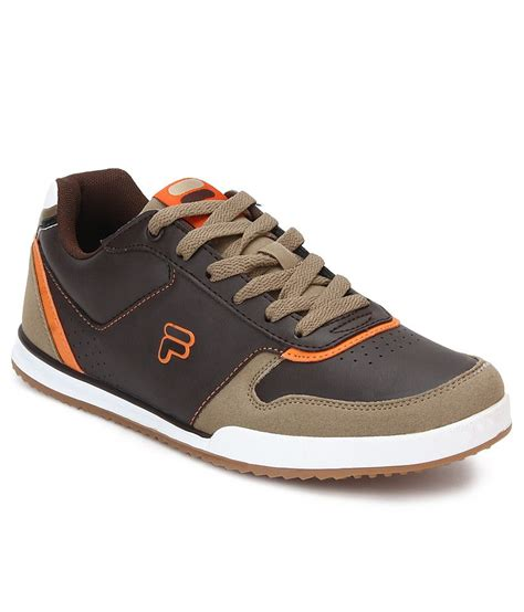 brown sport shoes fila adamo brown sport shoes price in india buy fila