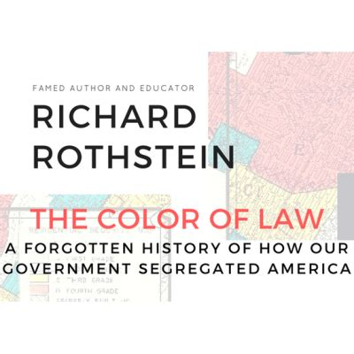 The Color Of Book Rothstein