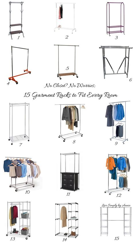 garment rack in bedroom the no closet garment rack closet 19 winning exles