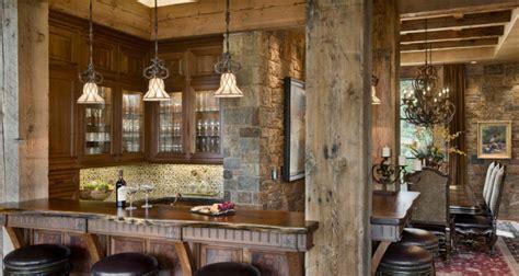 arredamento casa rustico 16 esempi di angolo bar in casa con arredamento rustico