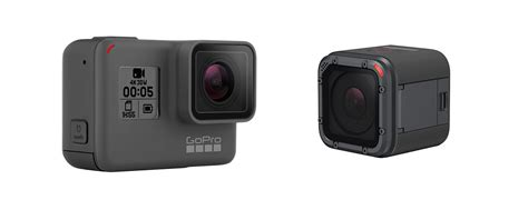 Gopro Session 5 gopro 5 black and 5 session cameras