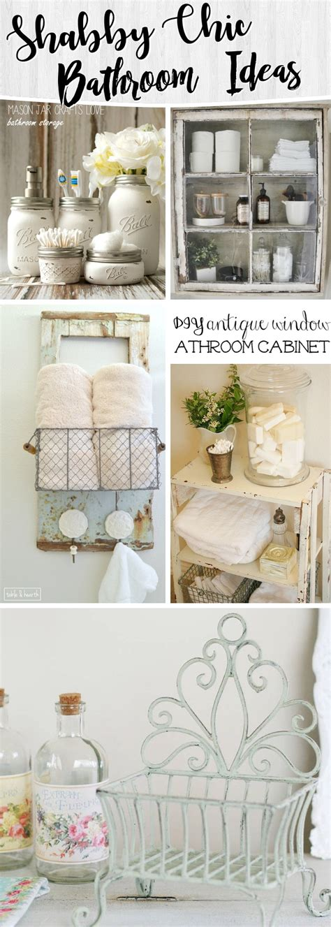 shabby chic bathrooms ideas 15 shabby chic bathroom ideas transforming your space from