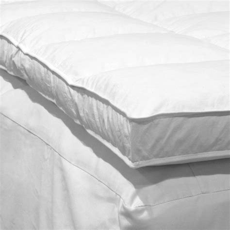feather bed topper down etc der3010 feather bed mattress topper atg stores