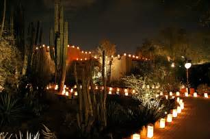 Luminaria Desert Botanical Garden Event Page 13 Wise Dreams Moments Travel