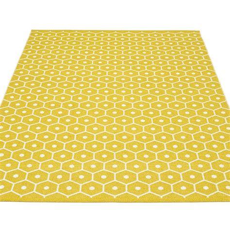 pappelina rugs pappelina honey large rug mustard hus hem