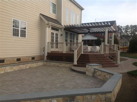 beautiful decks and patios raleigh patio and deck