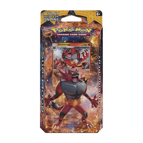 pok 233 mon tcg roaring heat theme deck incineroar alola