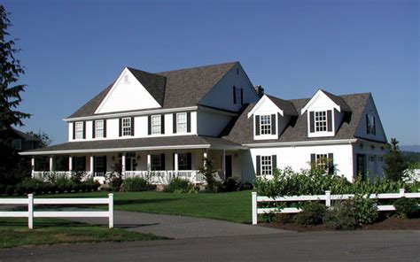 farm style house american farmhouse history house plans and more